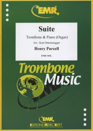 Suite - PURCELL - Partition - Trombone - laflutedepan.com