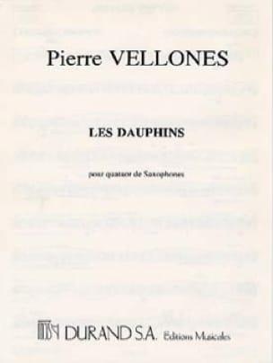 Les Dauphins Pierre Vellones Partition Saxophone - laflutedepan