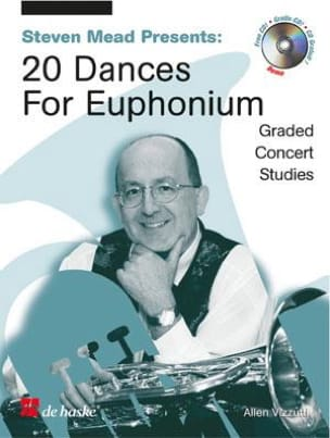 Allen Vizzutti - 20 Dances For Euphonium Sol - Partition - di-arezzo.fr