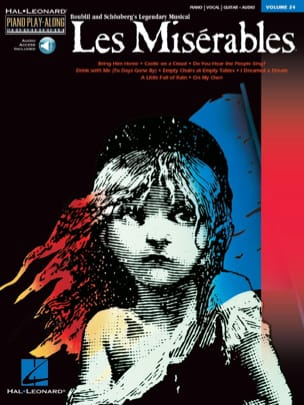 Claude Michel Schönberg - Piano Play-Along Volume 24 - The Miserables - Sheet Music - di-arezzo.co.uk