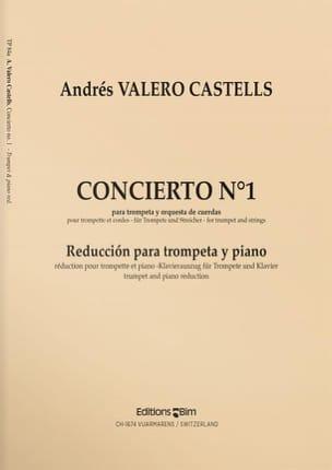 Concerto N° 1 Castells Andrés Valero Partition laflutedepan