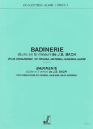 BACH - Suite Badinerie En Menor - Partitura - di-arezzo.es