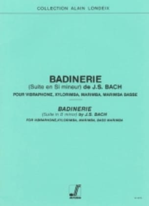 BACH - マイナーバディナリースイート - 楽譜 - di-arezzo.jp