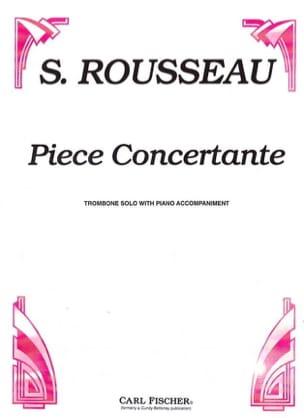Pièce Concertante Samuel Rousseau Partition Trombone - laflutedepan