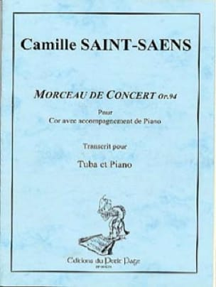 Camille Saint-Saëns - Opus 94 Concert Piece - Sheet Music - di-arezzo.co.uk