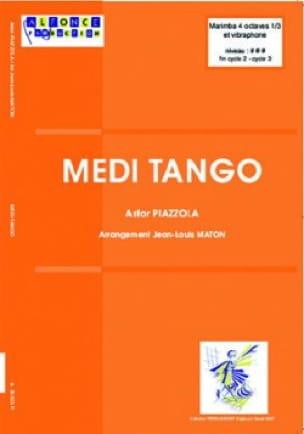 Medi-tango - Astor Piazzolla - Partition - laflutedepan.com