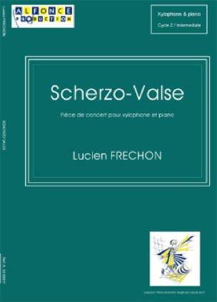 Scherzo-Valse - Lucien Fréchon - Partition - laflutedepan.com