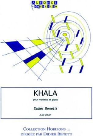 Khala - Didier Benetti - Partition - Marimba - laflutedepan.com