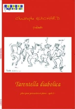 Tarentella Diabolica - Christophe Guichard - laflutedepan.com