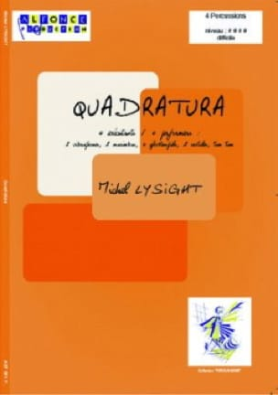 Michel Lysight - Quadratura - Partition - di-arezzo.fr