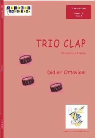 Didier Ottaviani - Trio Clap - Partition - di-arezzo.fr