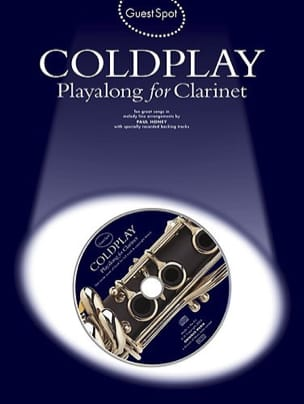 Coldplay - Guest Spot - Coldplay Playalong For Clarinet - Sheet Music - di-arezzo.com