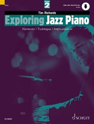 Tim Richards - Exploring Jazz Piano Volume 2 - Sheet Music - di-arezzo.co.uk