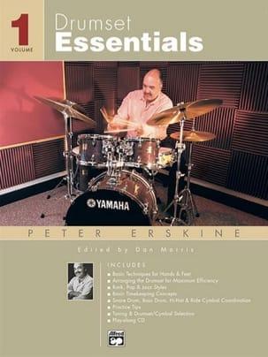 Drumset Essentials Volume 1 Peter Erskine Partition laflutedepan