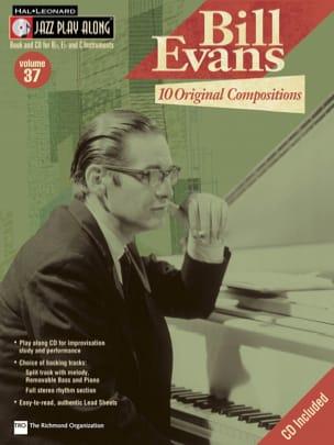 Jazz play-along volume 37 - Bill Evans - Bill Evans - laflutedepan.com