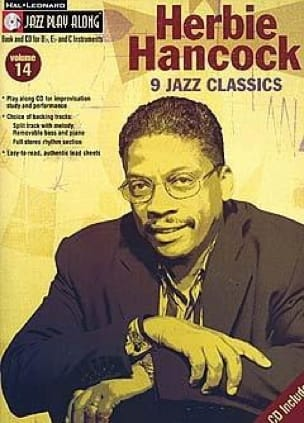 Herbie Hancock - Jazz play-along volume 14 - Herbie Hancock - Partition - di-arezzo.fr