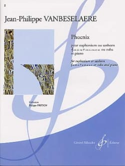 Jean-Philippe Vanbeselaere - Phoenix - Sheet Music - di-arezzo.co.uk