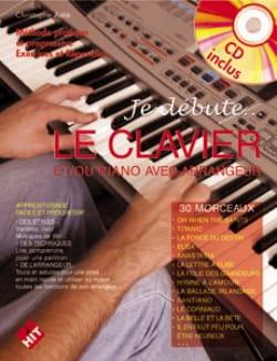 Je débute le clavier Christophe Astié Partition Piano - laflutedepan