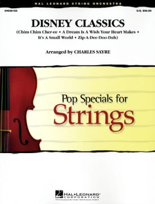 DISNEY - Disney Classics - Pop Specials For Strings - Sheet Music - di-arezzo.com