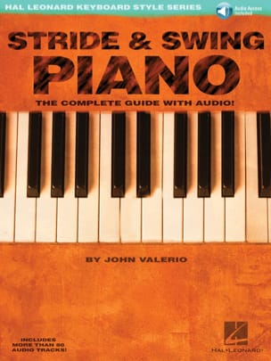 Stride & Swing Piano John Valerio Partition Jazz - laflutedepan