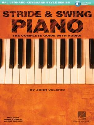 John Valerio - Stride - Swing Piano - Sheet Music - di-arezzo.com