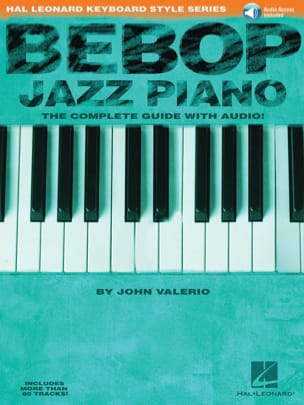 John Valerio - Bebop Jazz Piano - Sheet Music - di-arezzo.com