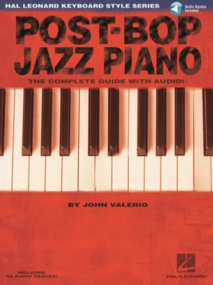 Post-Bop Jazz Piano John Valerio Partition Jazz - laflutedepan