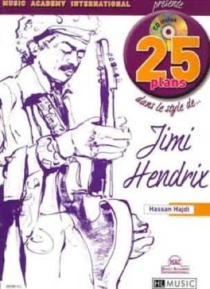 Hassan Hajdi - 25 Plans in the Style Of ... Jimi Hendrix - Sheet Music - di-arezzo.com