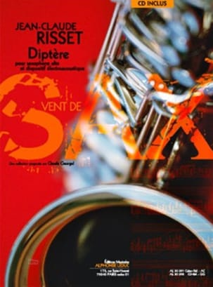 Diptère - Jean-Claude Risset - Partition - laflutedepan.com