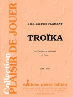 Troïka Jean-Jacques Flament Partition Trompette - laflutedepan