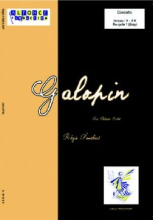 Régis Famelart - Galopin - Partition - di-arezzo.fr