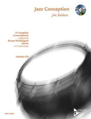 Jim Snidero - Jazz Conception - 21 Complete Transcriptions - Partition - di-arezzo.fr
