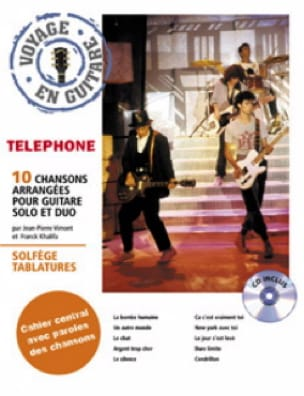 Téléphone - Traveling in Guitar - Sheet Music - di-arezzo.co.uk