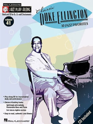 Duke Ellington - Jazz play-along volume 41 - Classic Duke Ellington - Partition - di-arezzo.ch