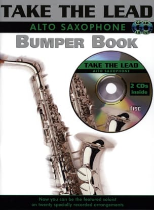Take The Lead Bumper Book Partition Saxophone - laflutedepan