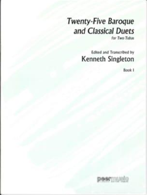 Twenty-Five Baroque And Classical Duets Book 1 laflutedepan