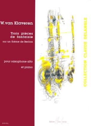 Trois Pièces de Fantaisie - W. Van Klaveren - laflutedepan.com
