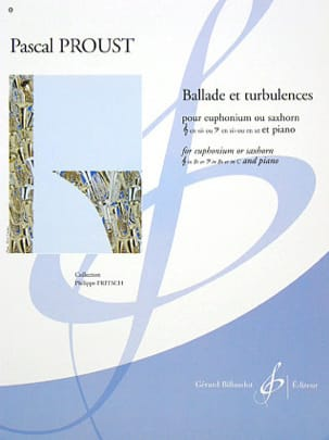 Pascal Proust - Ballad and turbulence - Sheet Music - di-arezzo.com