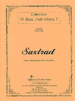 Jérôme Naulais - Saxtrad - Sheet Music - di-arezzo.co.uk