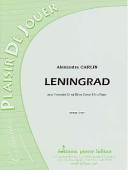 Alexandre Carlin - Leningrado - Partitura - di-arezzo.es