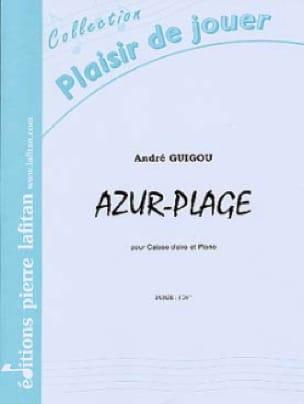 Azur-Plage André Guigou Partition Caisse-claire - laflutedepan