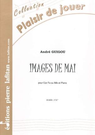 Images de Mai - André Guigou - Partition - Cor - laflutedepan.com