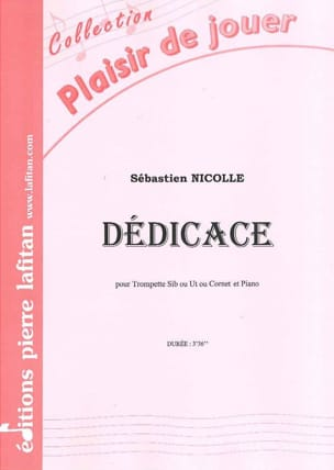 Sébastien Nicolle - Dedication - Sheet Music - di-arezzo.com