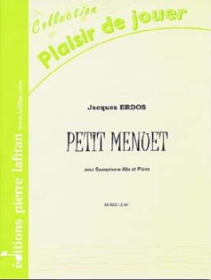 Petit Menuet - Jacques Erdos - Partition - laflutedepan.com