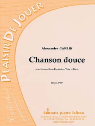 Alexandre Carlin - Soft song - Sheet Music - di-arezzo.com