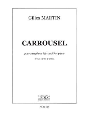 Gilles Martin - Carrousel - Partition - di-arezzo.fr
