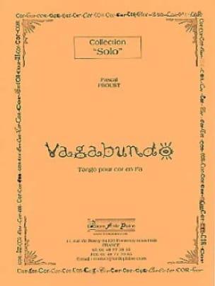 Vagabundo Pascal Proust Partition Cor - laflutedepan