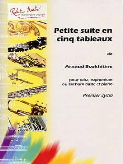 Petite Suite En Cinq Tableaux Arnaud Boukhitine Partition laflutedepan