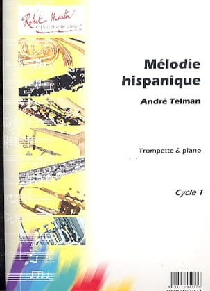 Mélodie Hispanique - André Telman - Partition - laflutedepan.com