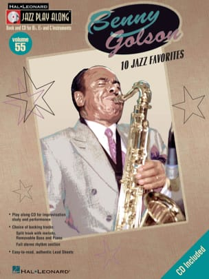 Benny Golson - Jazz play-along volume 55 - Benny Golson - Partition - di-arezzo.fr